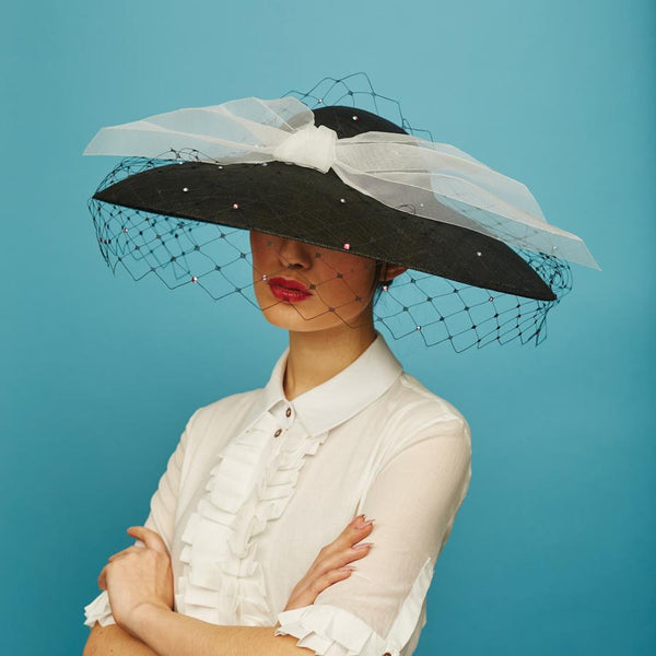 Golightly coolie - Awon Golding Millinery