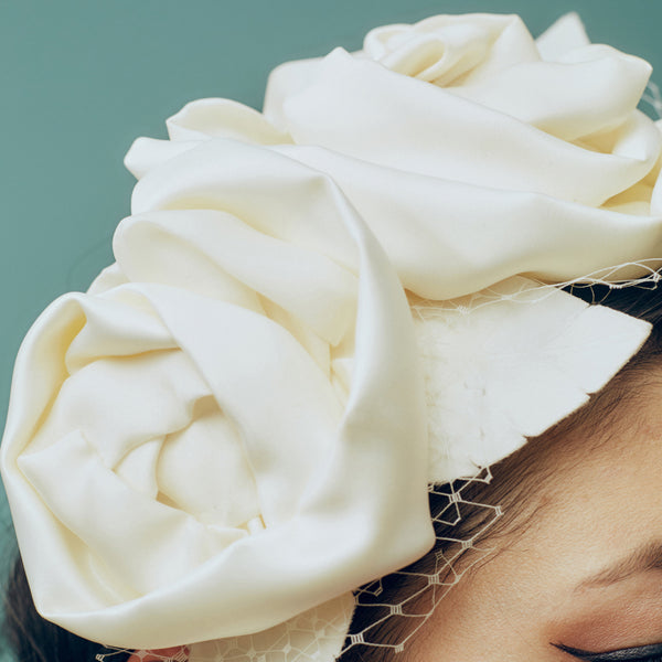 Twin Rose Headpiece