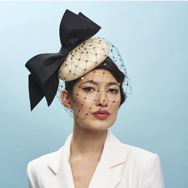 Little Lies Beret - Awon Golding Millinery