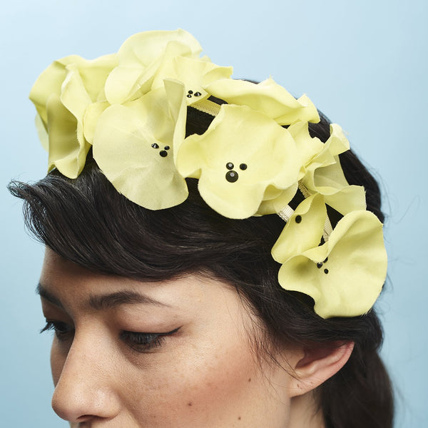 My Girl headband - Awon Golding Millinery