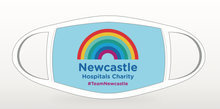 Load image into Gallery viewer, Newcastle Hospitals 'Team Newcastle' Face Covering