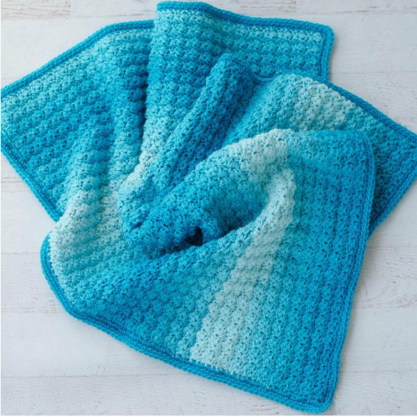 Sedge Stitch Baby Afghan Pattern