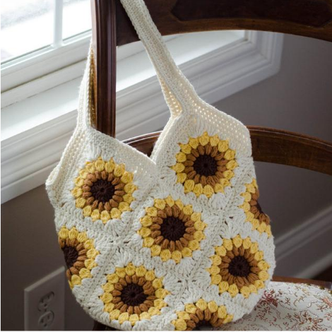Sweet Summer Sunflower Bag Pattern