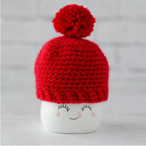 Marshmallow Mug Hat Pattern