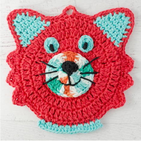 Cat Potholder Pattern