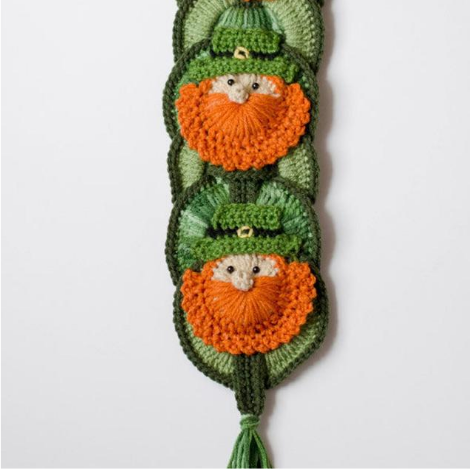 Leprechaun Wall Hanging Pattern