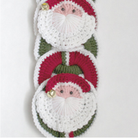 Santa Wallhanging Pattern