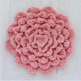 Flower Power Crochet Wallflower Pattern