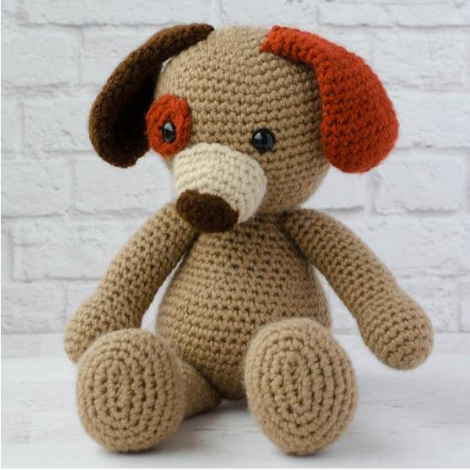 Franklin the Puppy Pattern