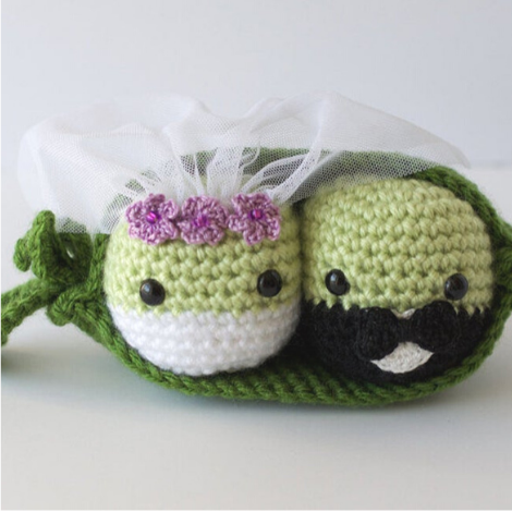 Peas in a Pod Get Married Pattern