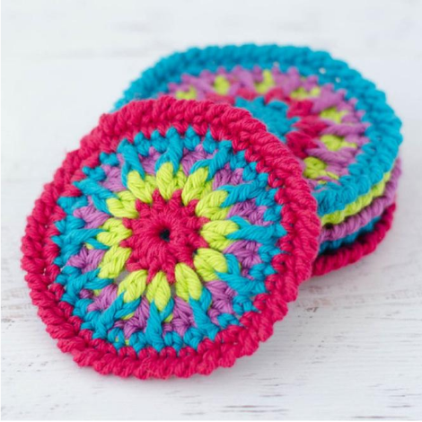 Kaleidoscope Coasters Pattern