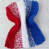 Patriotic Dishcloth Pattern
