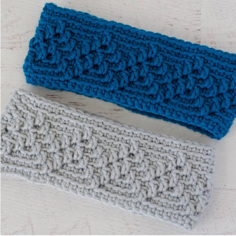 Michigan Mountain Ear Warmer Pattern