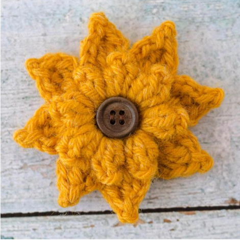 Black Eyed Susan Flower Pattern