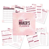 Maker's Planner - Christmas Planner - Gift Giving Planner
