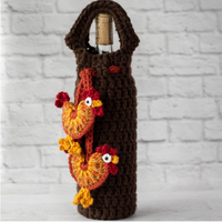 Rooster Wine Cozy