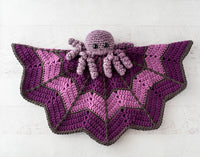 Spider on a Web Baby Lovey