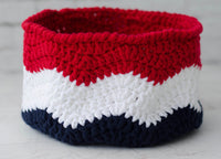 Waves of Glory Basket Pattern