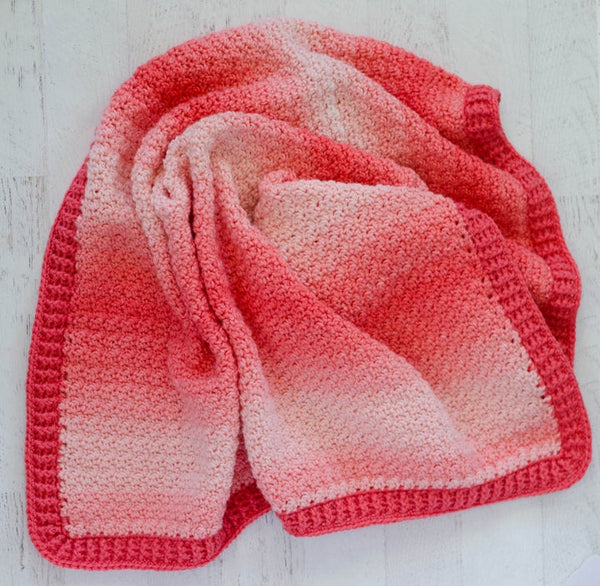 Strawberry Lemon Peel Baby Afghan Pattern