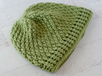 Alpine Stitch Crochet Hat