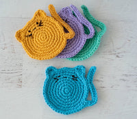 Cat Coasters Pattern