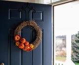 Fabulous Fall Crochet Wreath