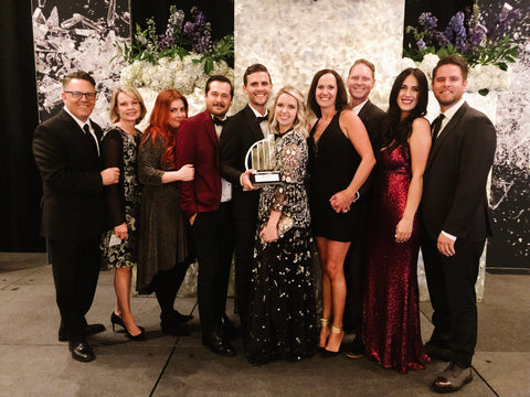 the taft team at the 2019 EY Entrepreneur of the Year award banquet