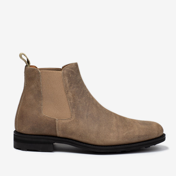 Drake boot in gaucho, side profile
