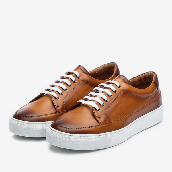 Fifth Ave Sneaker in Honey Side