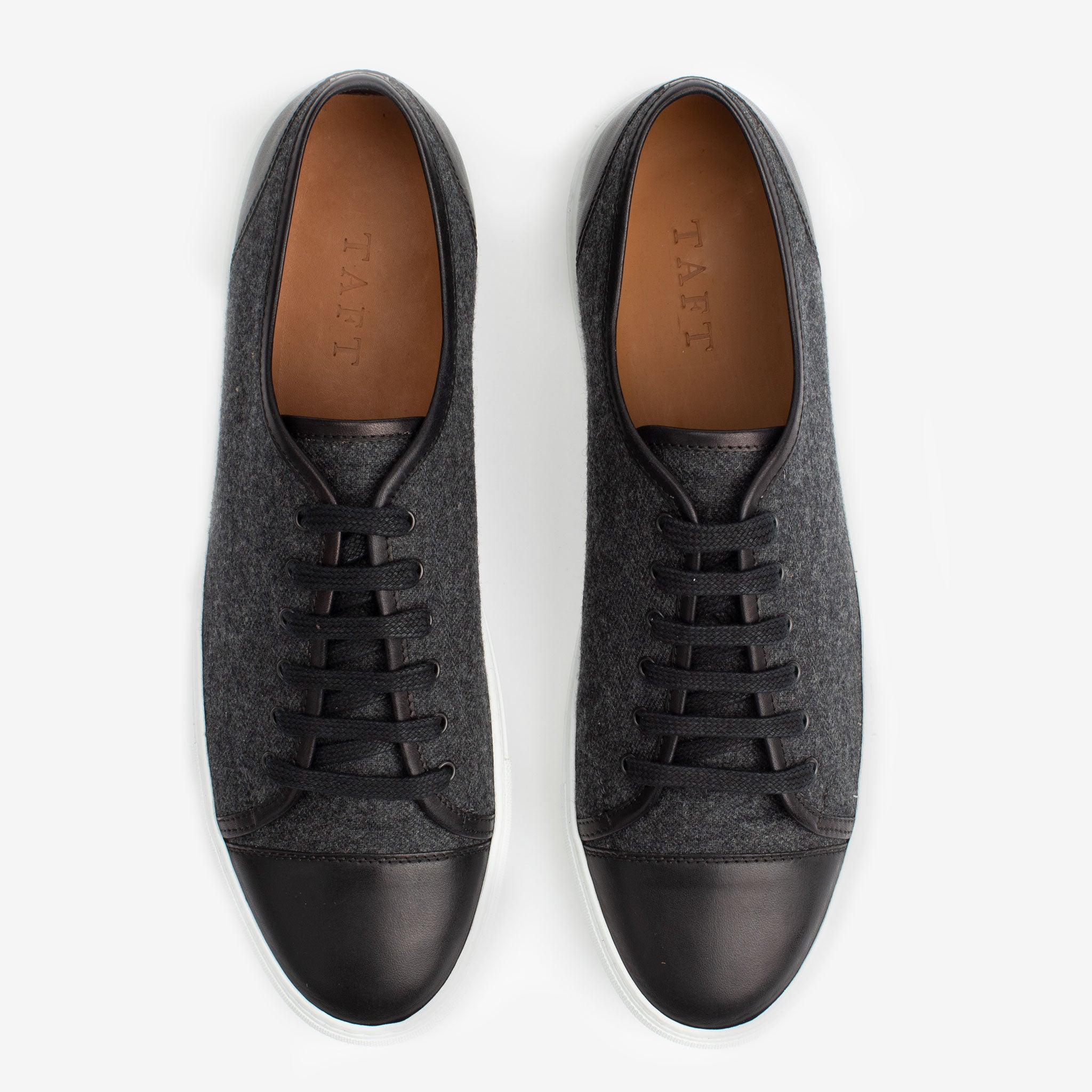 Jack Sneaker in Black Overhead