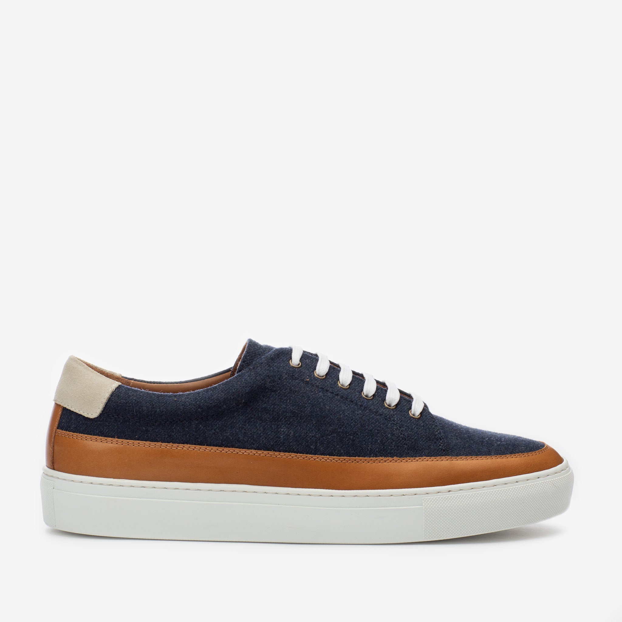 Fifth Ave Sneaker in Navy Side