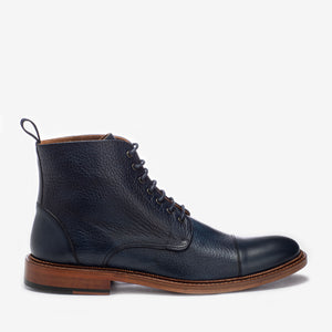 rome boot in navy