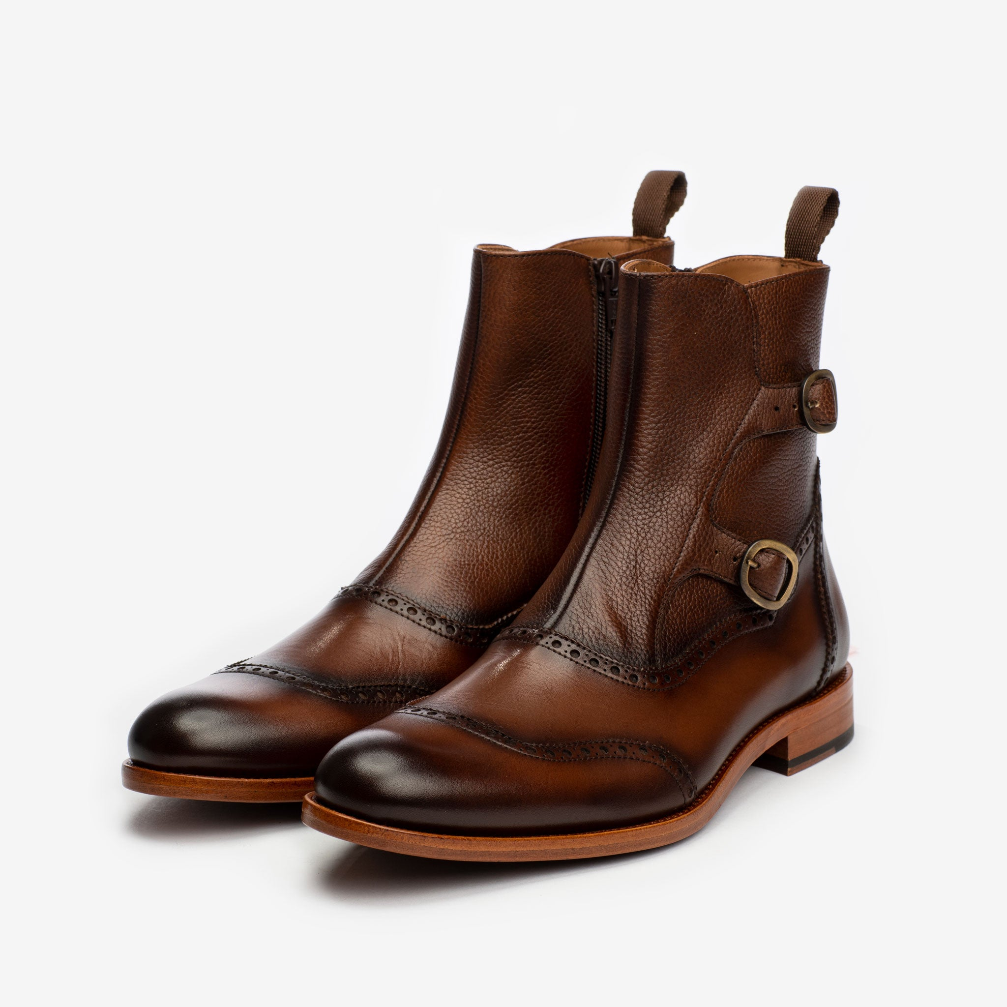 The Dustin Boot in Chocolate