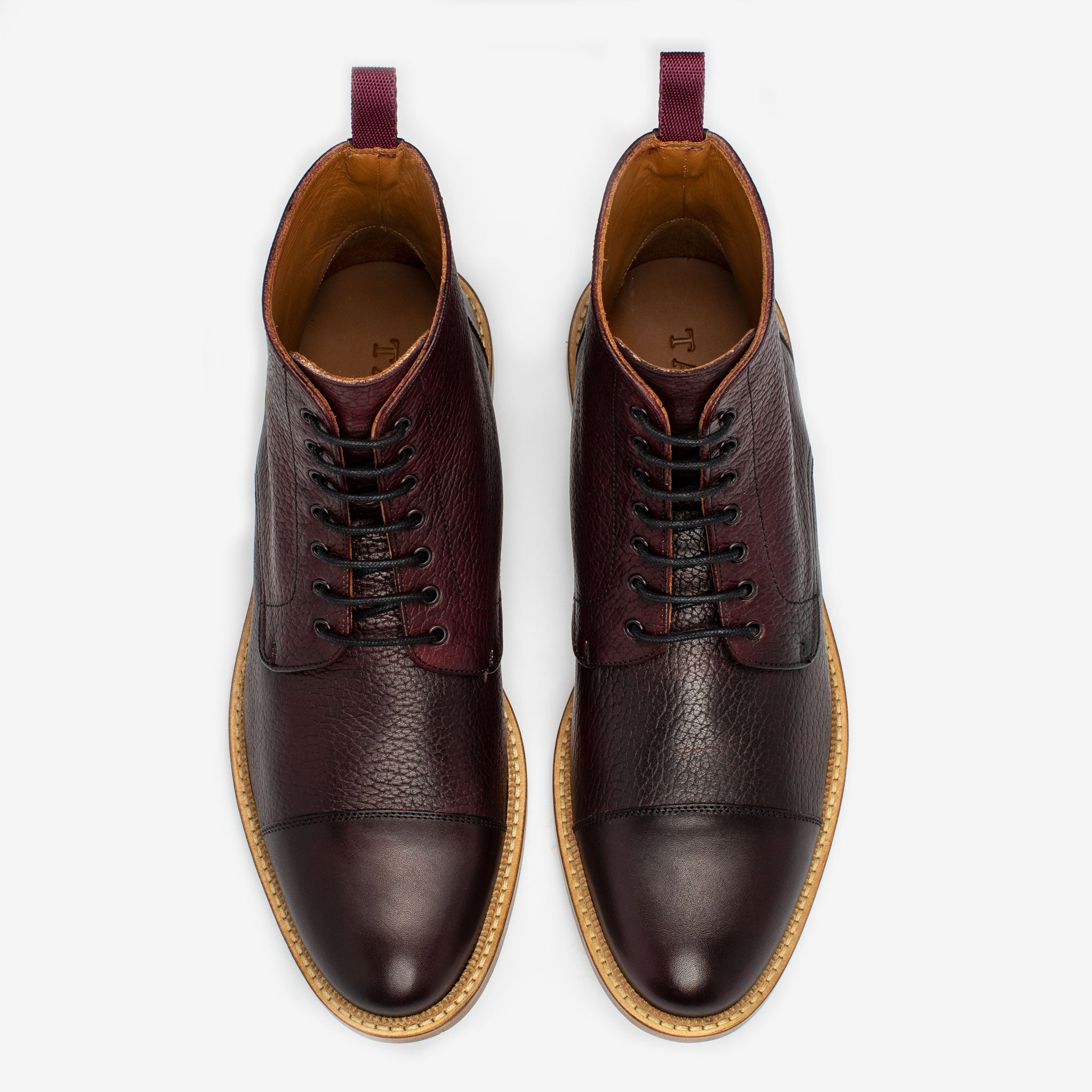 The Rome Boot in Oxblood
