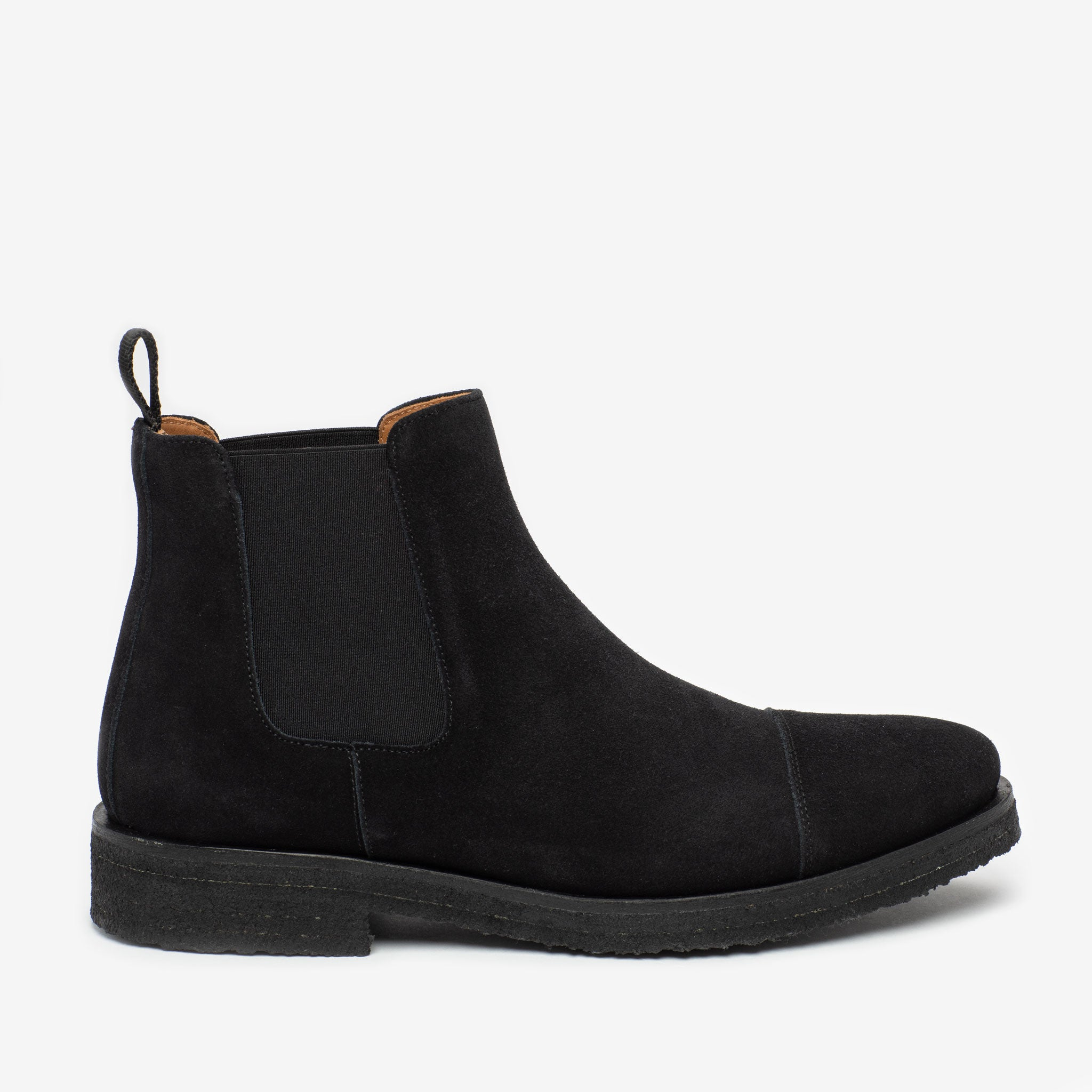 The Outback Boot in Black side veiw