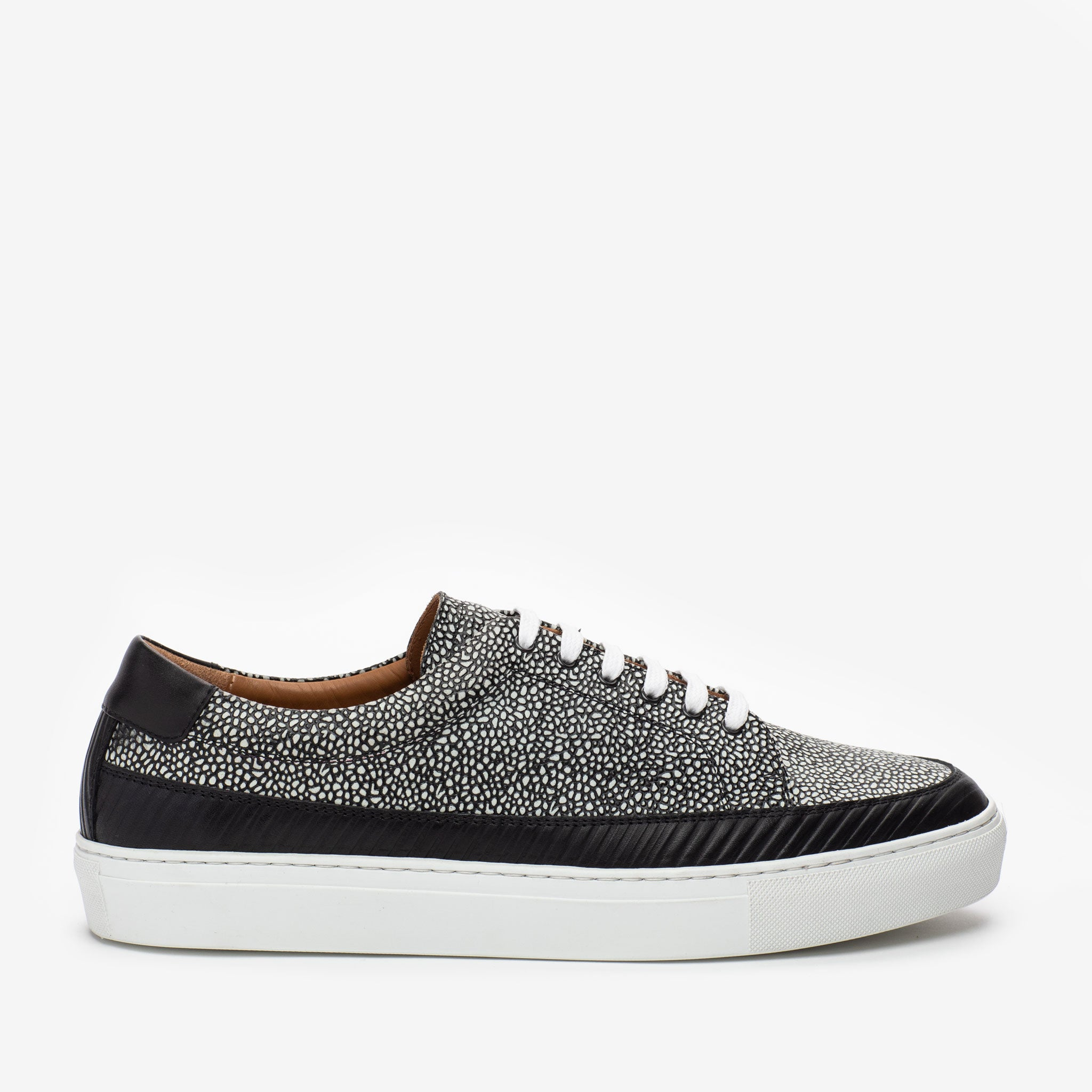 The Fifth Ave Sneaker in Stone