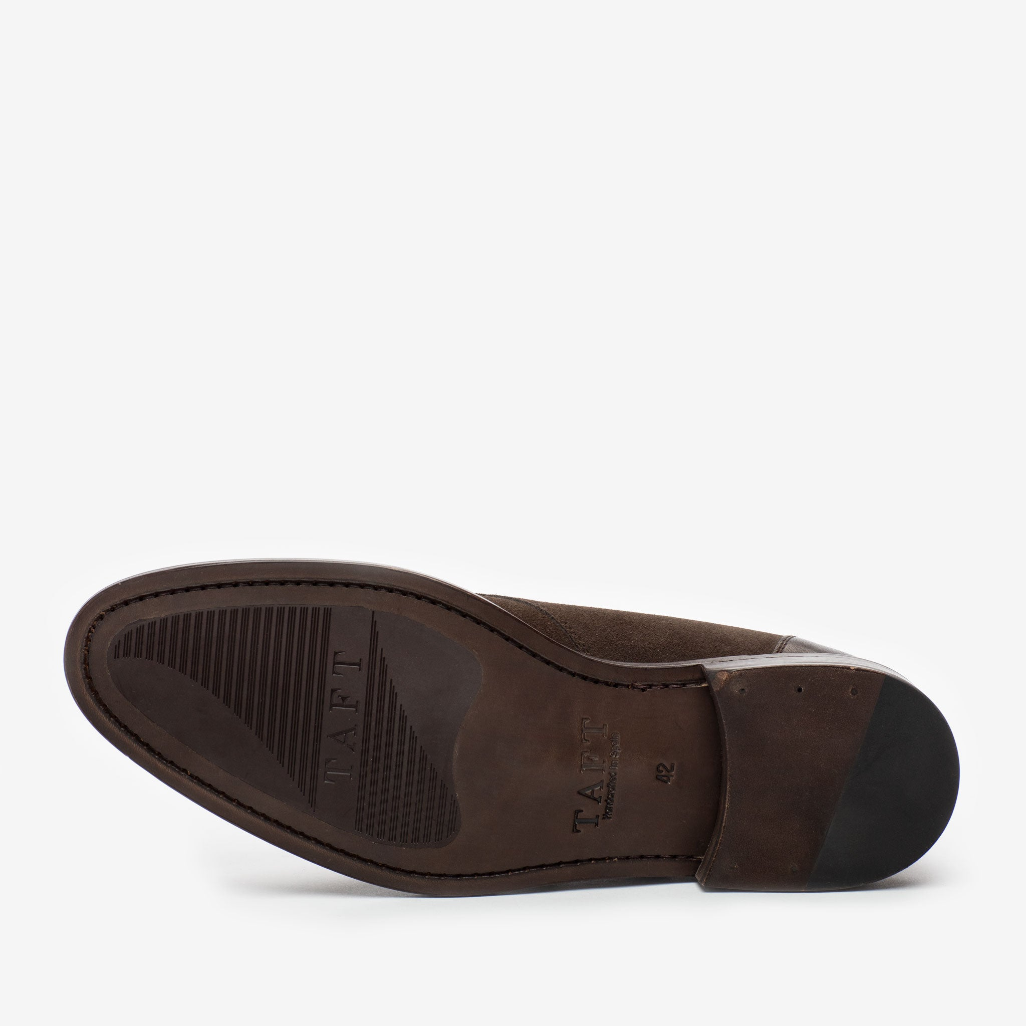 The Westminster Shoe in Chocolate sole
