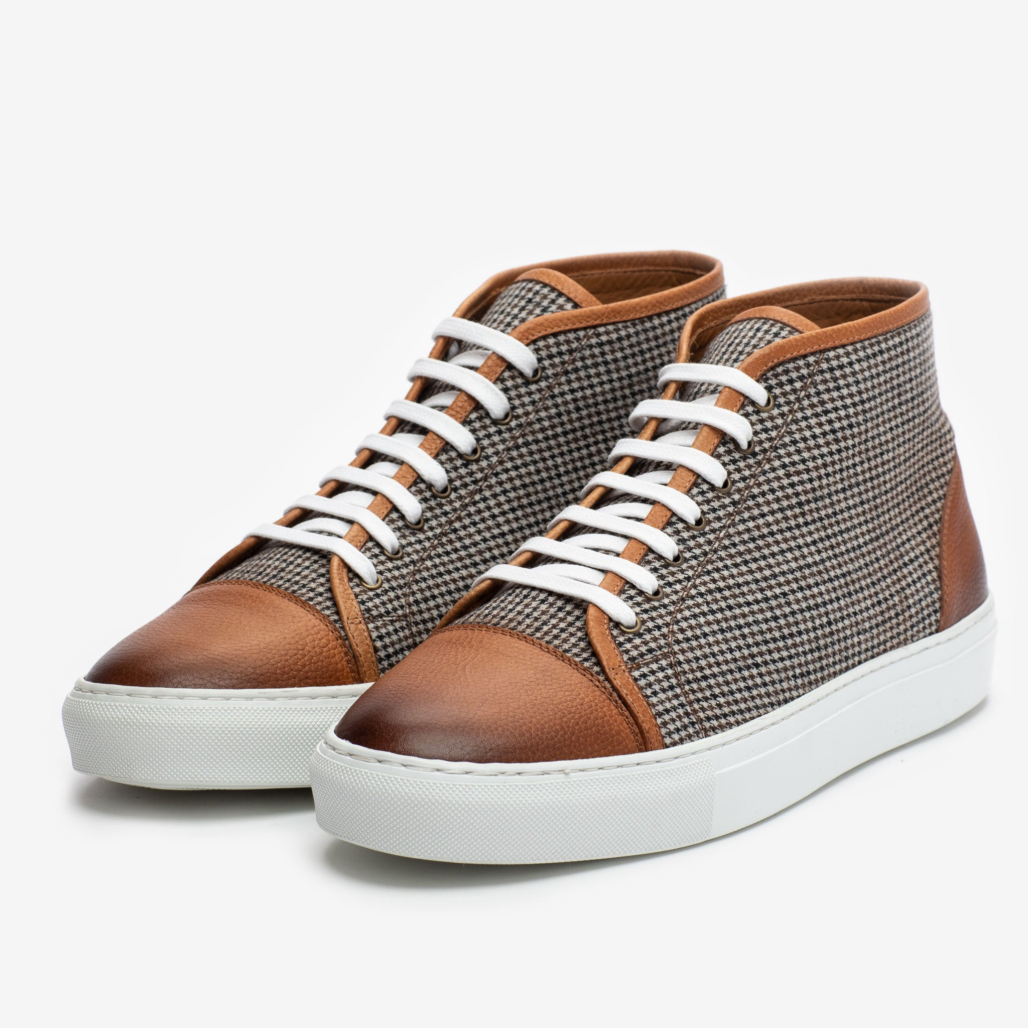 The Jack Sneaker Mid in Honey Side View