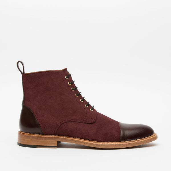 Troy Boot Oxblood Side