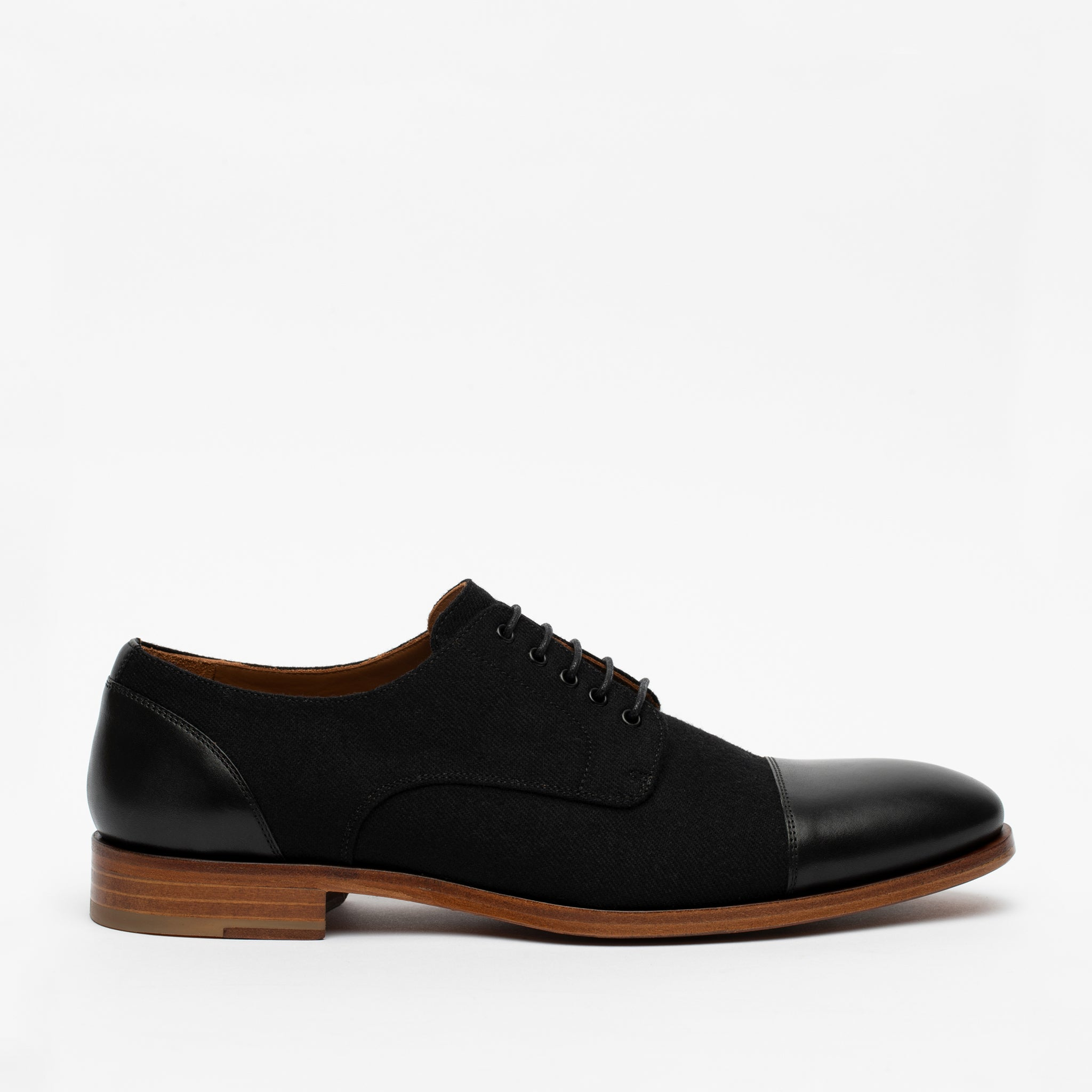 Jack Shoe in Black side view