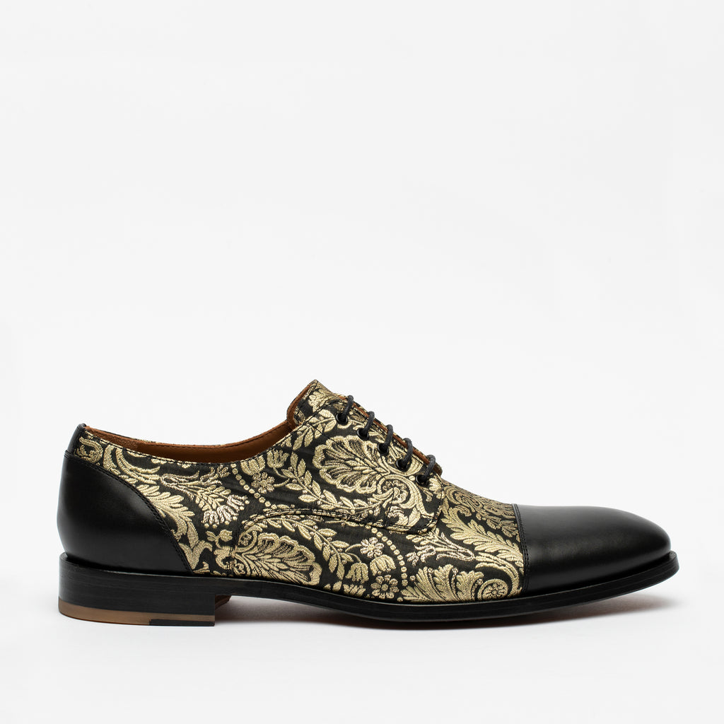 Jack Shoe in floral side view