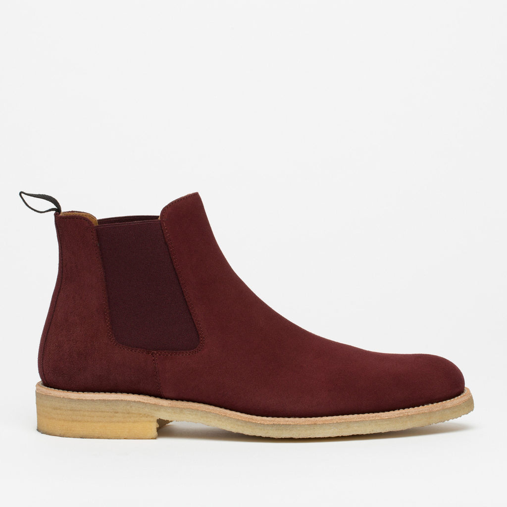 The Jude Boot in Oxblood