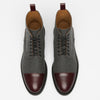 The Jack Boot in Grey/Oxblood