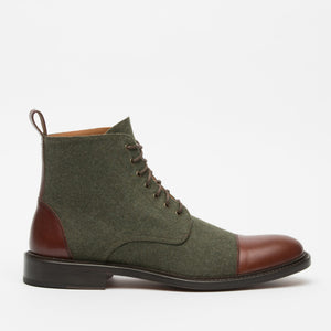 The Jack Boot in Green