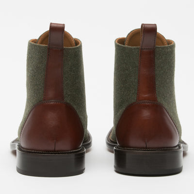 Jack Boot Green Back