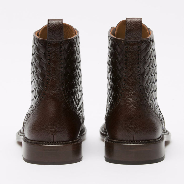 Saint Boot Espresso Back