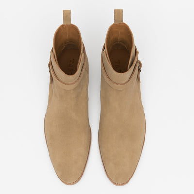 The Dylan Boot in Beige
