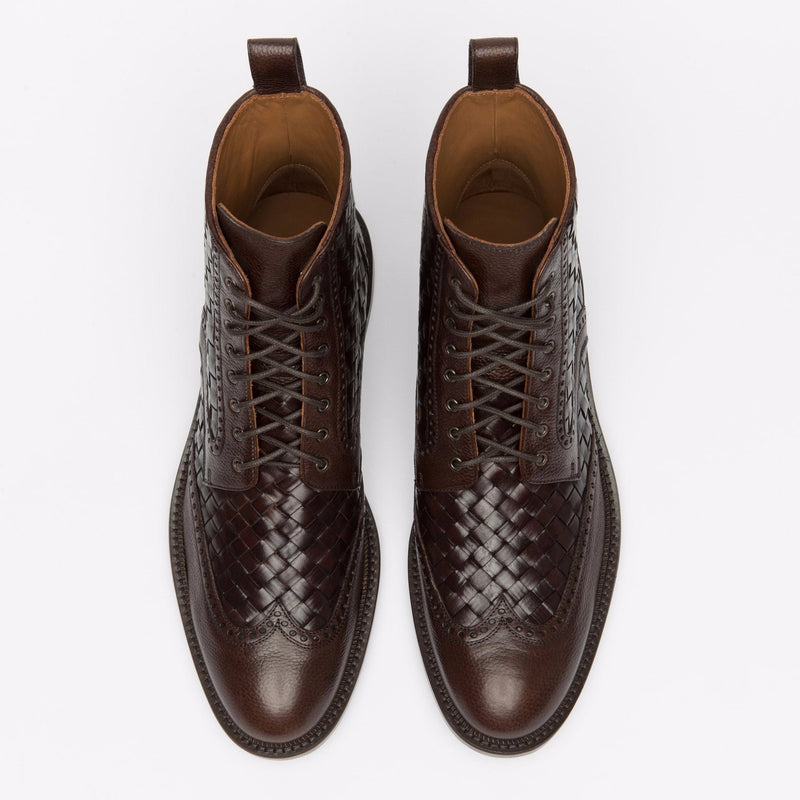 The Saint Boot in Espresso