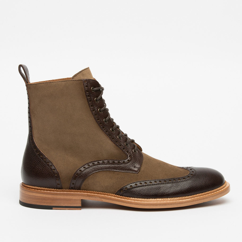 The Saint Boot in Brown (SECONDS)
