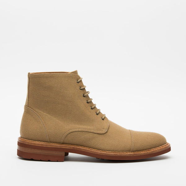 Jaro Boot in Khaki side view